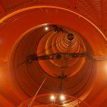 ブレーメンにあるZARM微小重力実験設備、Fallturm(落下塔)を見学