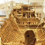 中世の難破船が見られるブレーマーハーフェンのドイツ船舶博物館