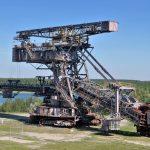 褐炭露天採掘用の巨大な掘削機が鎮座する野外ミュージアム、FERROPOLIS