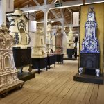 タイルとストーブ生産で栄えた町、Veltenのストーブ・陶器博物館
