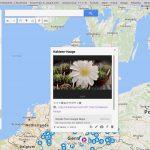 Googleマイマップでドイツ植物園・植物関連施設マップを作った